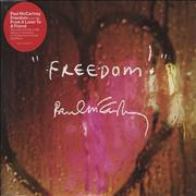 Click here for more info about 'Paul McCartney and Wings - Freedom / From A Lover To A Friend'