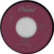 "Paul McCartney and Wings Freedom USA 7"" vinyl"