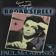 Paul McCartney and Wings Give My Regards To Broad Street UK book