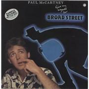 Paul McCartney and Wings Give My Regards To Broad Street Australia vinyl LP Promo