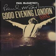 Click here for more info about 'Paul McCartney and Wings - Good Evening London + Ticket Stub'
