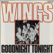 Click here for more info about 'Paul McCartney and Wings - Goodnight Tonight'
