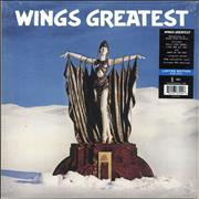 Click here for more info about 'Paul McCartney and Wings - Wings Greatest -180gram Blue Vinyl - Sealed'