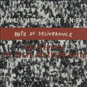 Paul McCartney and Wings Hope Of Deliverance - 3-track Netherlands CD single