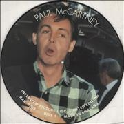 Paul McCartney and Wings Interview Picture Disc UK picture disc LP