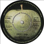 Click here for more info about 'Paul McCartney and Wings - Junior's Farm - 1st - 4-prong'