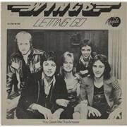 "Paul McCartney and Wings Letting Go Netherlands 7"" vinyl"