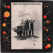 """Paul McCartney and Wings Listen To What The Man Said + P/S New Zealand 7"""" vinyl"""