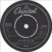 Click here for more info about 'Paul McCartney and Wings - Live And Let Die - 2nd'