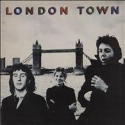 Click here for more info about 'Paul McCartney and Wings - London Town + Poster - EX'