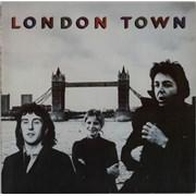 Paul McCartney and Wings London Town + Poster Germany vinyl LP