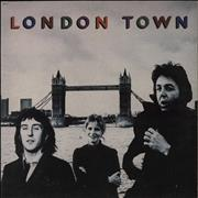 Click here for more info about 'Paul McCartney and Wings - London Town + Poster'