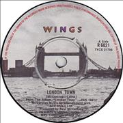 "Paul McCartney and Wings London Town UK 7"" vinyl"
