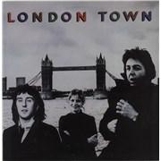 Paul McCartney and Wings London Town Australia vinyl LP