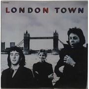 Paul McCartney and Wings London Town France vinyl LP