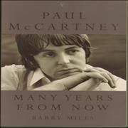 Paul McCartney and Wings Many Years From Now UK book