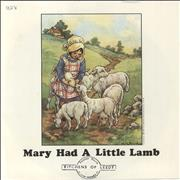"""Paul McCartney and Wings Mary Had A Little Lamb - Solid + P/S UK 7"""" vinyl"""