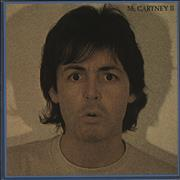 Paul McCartney and Wings McCartney II UK vinyl LP