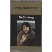 Paul McCartney and Wings McCartney UK cassette album