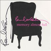 Click here for more info about 'Paul McCartney and Wings - Memory Almost Full - Autographed'