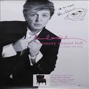 Click here for more info about 'Paul McCartney and Wings - Memory Almost Full - Autographed + Wristband'