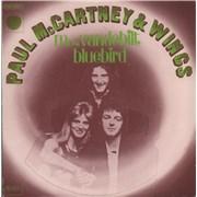 """Paul McCartney and Wings Mrs. Vandebilt France 7"""" vinyl"""