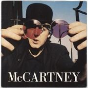 "Paul McCartney and Wings My Brave Face - Black & Silver label design UK 7"" vinyl"