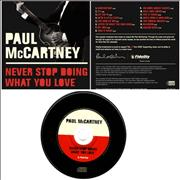 Paul McCartney and Wings Never Stop Doing What You Love USA CD album