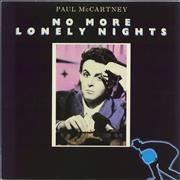 Click here for more info about 'Paul McCartney and Wings - No More Lonely Nights - P/S'