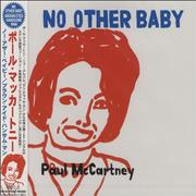 Paul McCartney and Wings No Other Baby Japan CD single