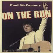 Click here for more info about 'Paul McCartney and Wings - On The Run + Ticket Stub'