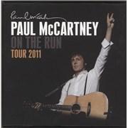 Paul McCartney and Wings On The Run Tour 2011 - Badge Set UK badge