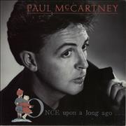Click here for more info about 'Paul McCartney and Wings - Once Upon A Long Ago - Paper label'