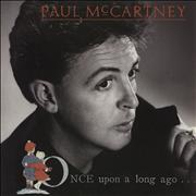 """Paul McCartney and Wings Once Upon A Long Ago Netherlands 7"""" vinyl"""