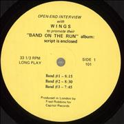 Click here for more info about 'Paul McCartney and Wings - Open-End Interview With Wings To Promote Their