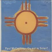 Click here for more info about 'Paul McCartney and Wings - Ou Est Le Soleil - Sealed'