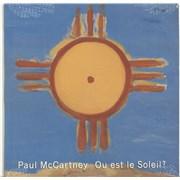 "Paul McCartney and Wings Ou Est Le Soleil - Sealed USA 12"" vinyl"