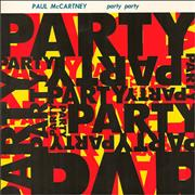 """Paul McCartney and Wings Party Party UK 7"""" vinyl"""
