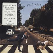 Paul McCartney and Wings Paul Is Live - Sealed UK CD album