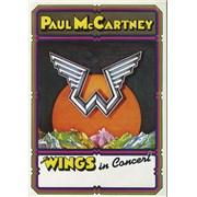 Paul McCartney and Wings Paul McCartney And Wings In Concert UK tour programme