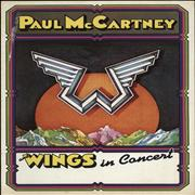 Click here for more info about 'Paul McCartney and Wings - Paul McCartney And Wings In Concert + Ticket stub'