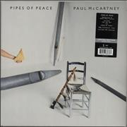 Click here for more info about 'Paul McCartney and Wings - Pipes Of Peace - 180gram Silver Vinyl + Sealed'