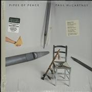 Paul McCartney and Wings Pipes Of Peace - 180gram Special Edition + 7