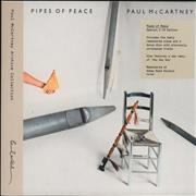 Paul McCartney and Wings Pipes Of Peace - Special Edition - Sealed UK 2-CD album set