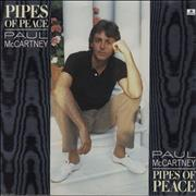 """Paul McCartney and Wings Pipes Of Peace Netherlands 7"""" vinyl"""