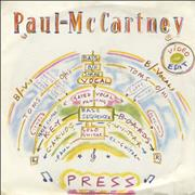 Click here for more info about 'Paul McCartney and Wings - Press - Video Edit'