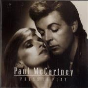 Paul McCartney and Wings Press To Play - 1st issue UK CD album