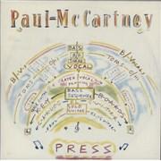 "Paul McCartney and Wings Press Netherlands 7"" vinyl"