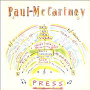 """Paul McCartney and Wings Press UK 7"""" vinyl"""