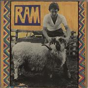 Click here for more info about 'Paul McCartney and Wings - Ram - 1st - Front Laminated - VG'